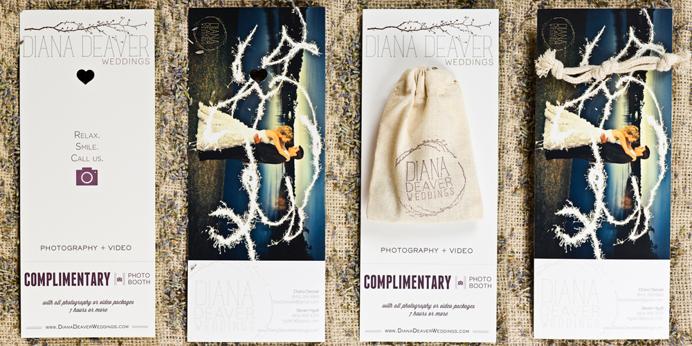 Diana Deaver Wedding Photography Branding Seasonal Promo