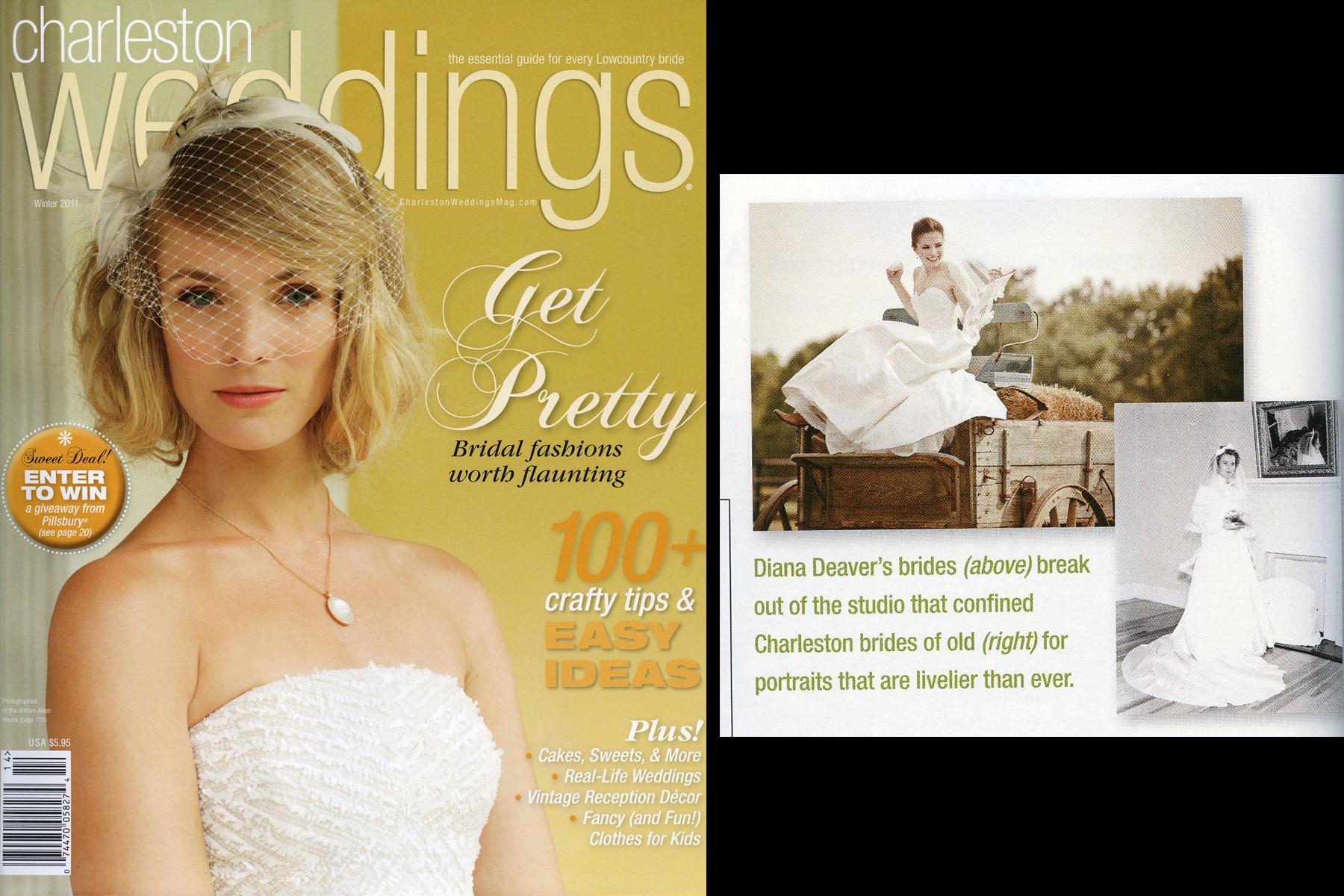 Diana deaver weddings charleston magazine