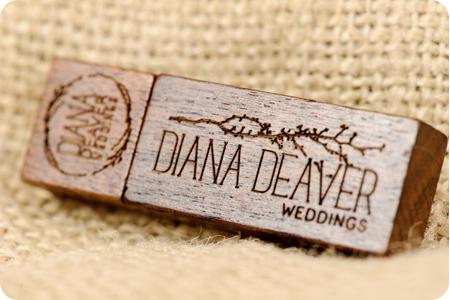wedding photography custom USB Flash Drive