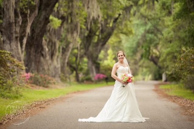 Bridal Portrait Magnolia Plantation Charleston Wedding photographer (71)
