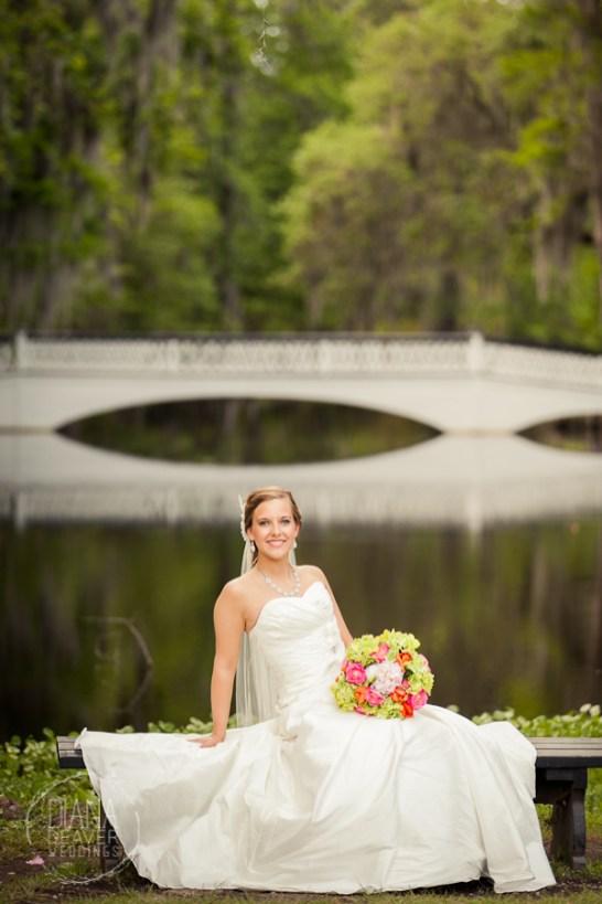 Bridal Portrait Magnolia Plantation Charleston Wedding photographer (94)