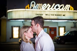 engagement session downtown Charleston SC American Theater-5