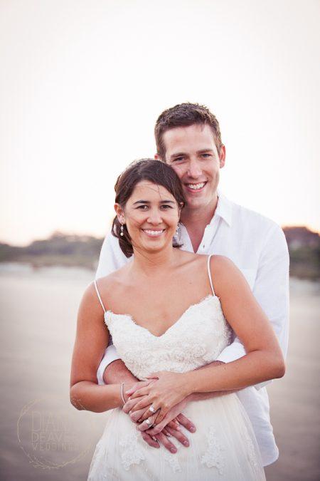 bride and groom at kiawah