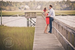 engagement session on a lowcountry dock (2)