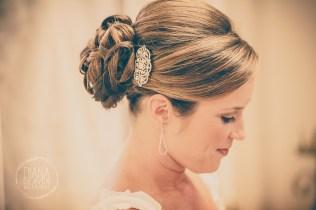 bridal hair and wedding hair pin