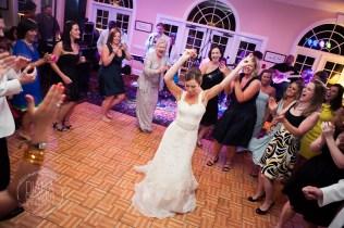 fun wedding dance floor photo