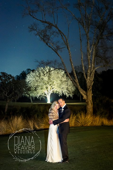 long exposure wedding portrait