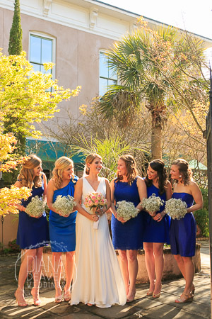 jacob bond house bride and bridesmaids formal photos