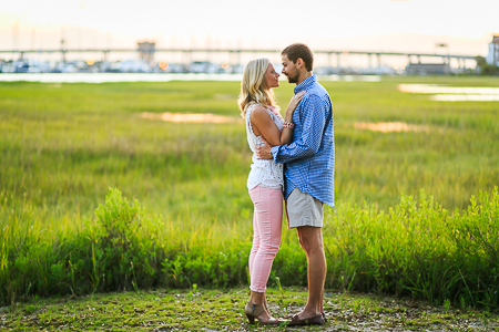 engagement session downtown charleston sc cobblestone, marsh views (34)