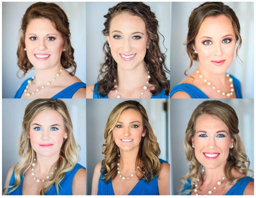 bridesmaids headshots and portraits