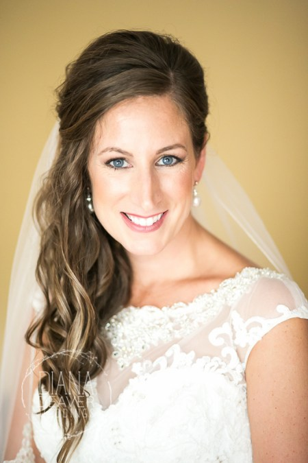 Bride getting ready at ION Creek Club in Mount Pleasant by Diana Deaver Weddings Photography