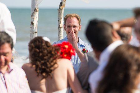 emotional groom kiawah