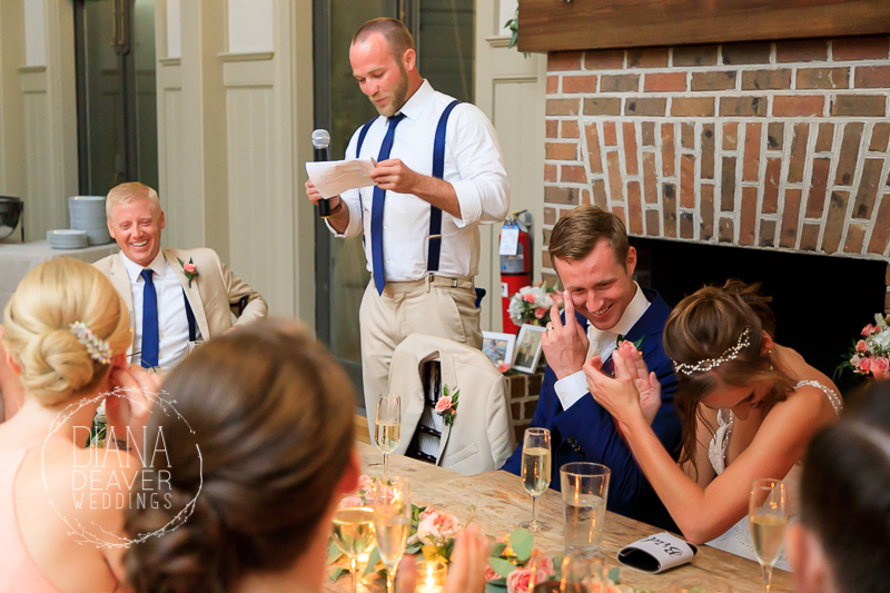 photo\s of ION Creek Club wedding photographed by Diana Deaver Weddings