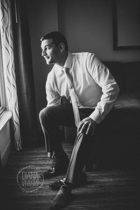 groom getting ready photos wedding photographer diana deaver weddings