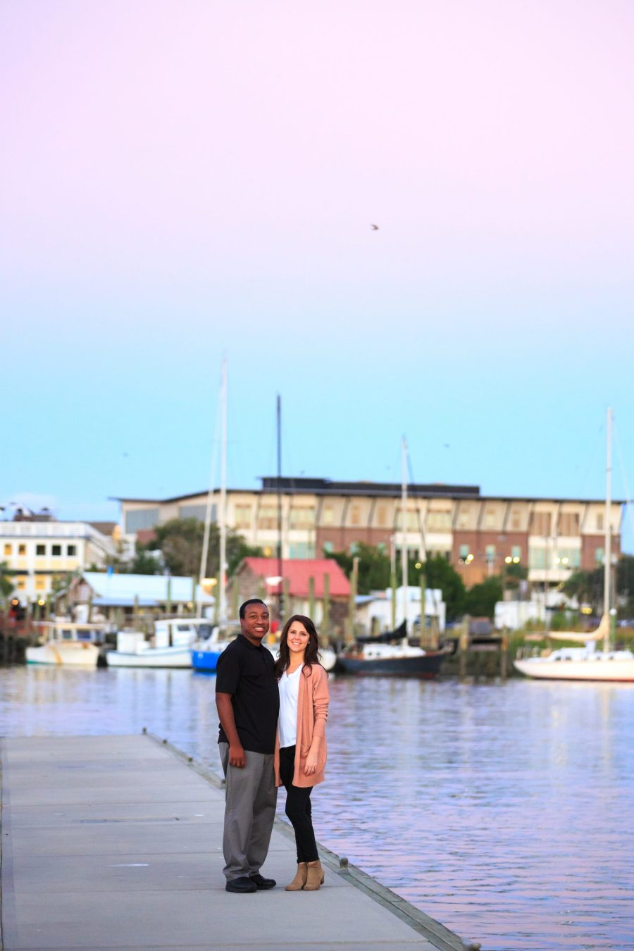 mount pleasant water view engagement session photos by charleston wedding photographer Diana Deaver (1)