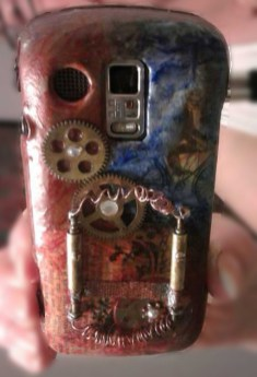Steampunk Cellphone Case Mod