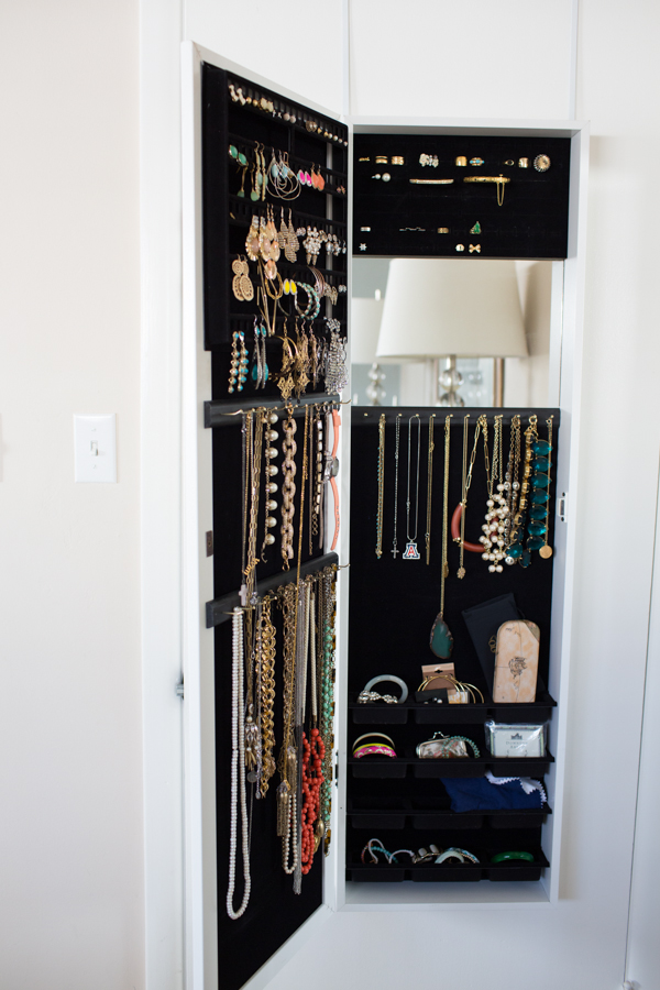 Over The Door Hanging Jewelry Organizer