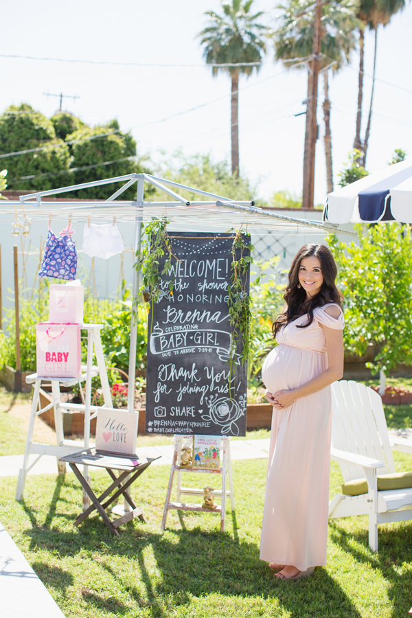 Baby Girl Garden Tea Party Shower Diana Elizabeth