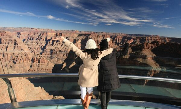 A road trip and walk over the Grand Canyon (yes, over)