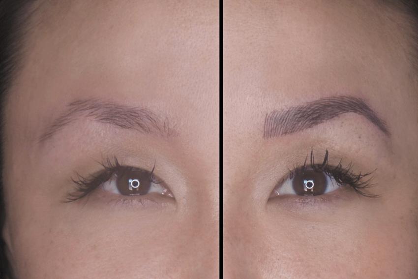 Semi-permanent Eyebrow Microblading