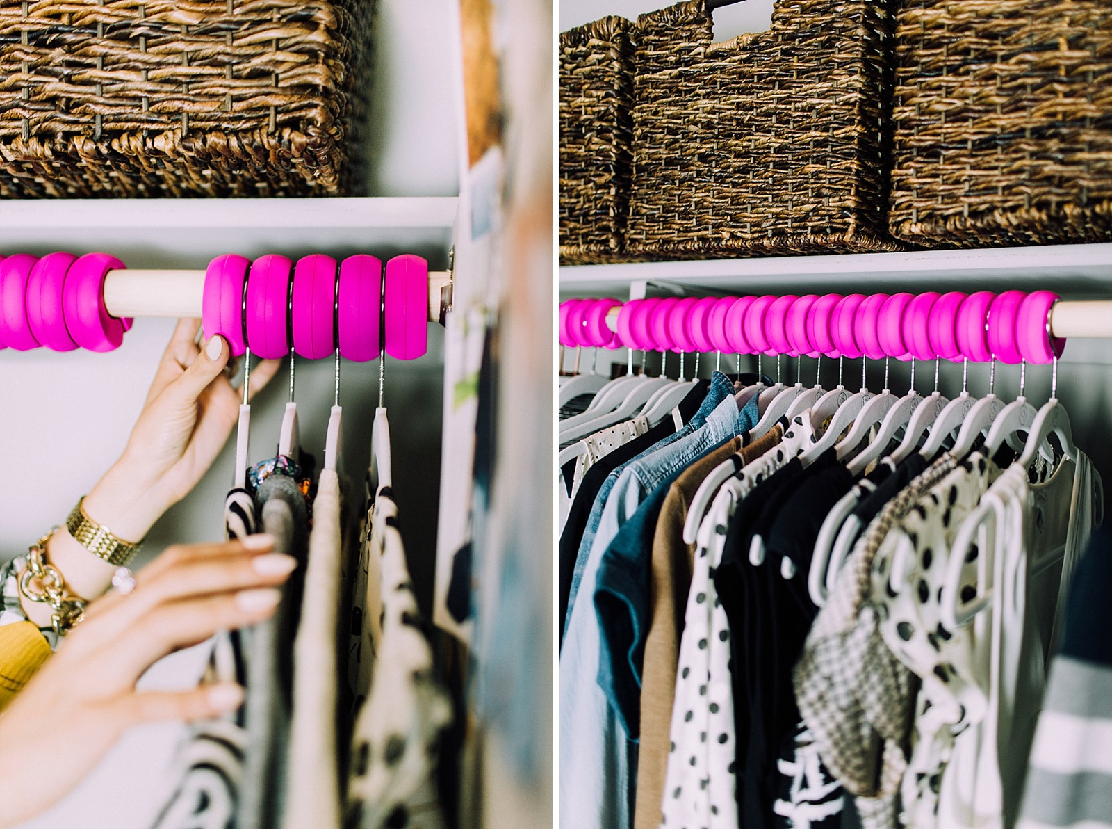 Diana Elizabeth Blog Fashion Blogger Organized Closet Xanger
