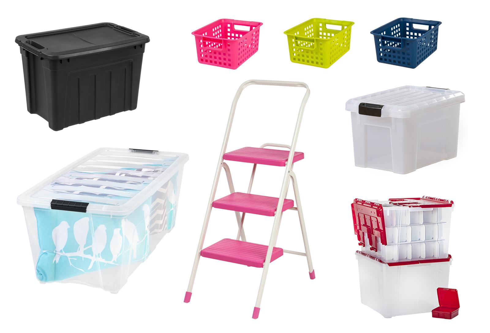 wayfair-iris-organize-bins-pretty-girly-storage-1  sc 1 st  Diana Elizabeth & Studio Storage and Organization | Diana Elizabeth
