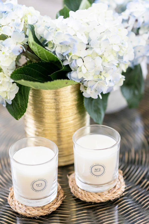 The scents of home: How to make a rope candle coaster