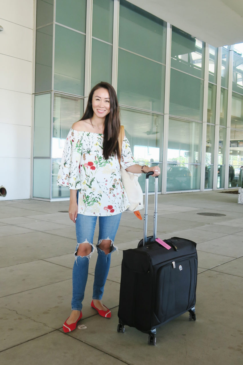 Traveling with a Garment Bag