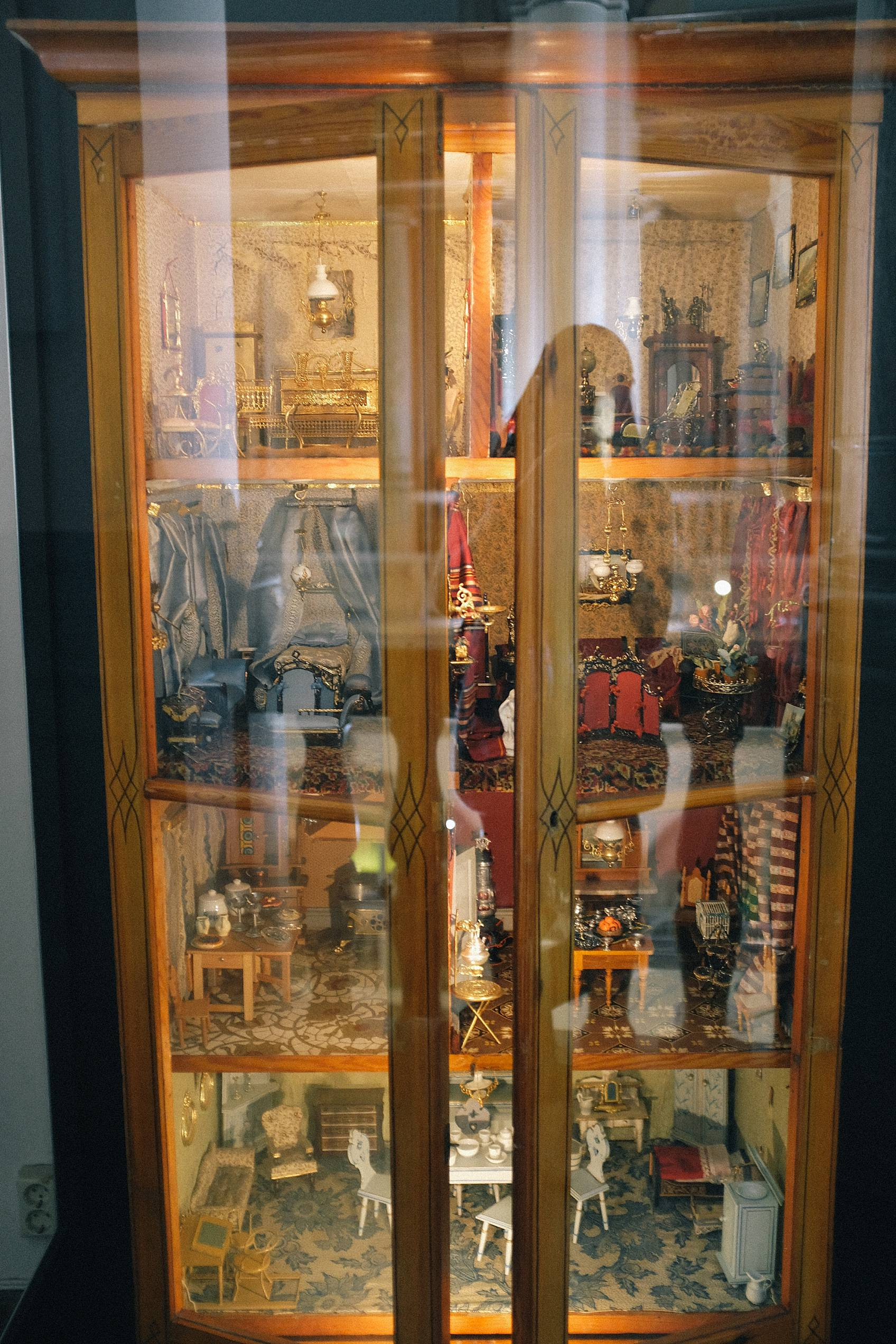 nordic museum dollhouse cabinets antiques