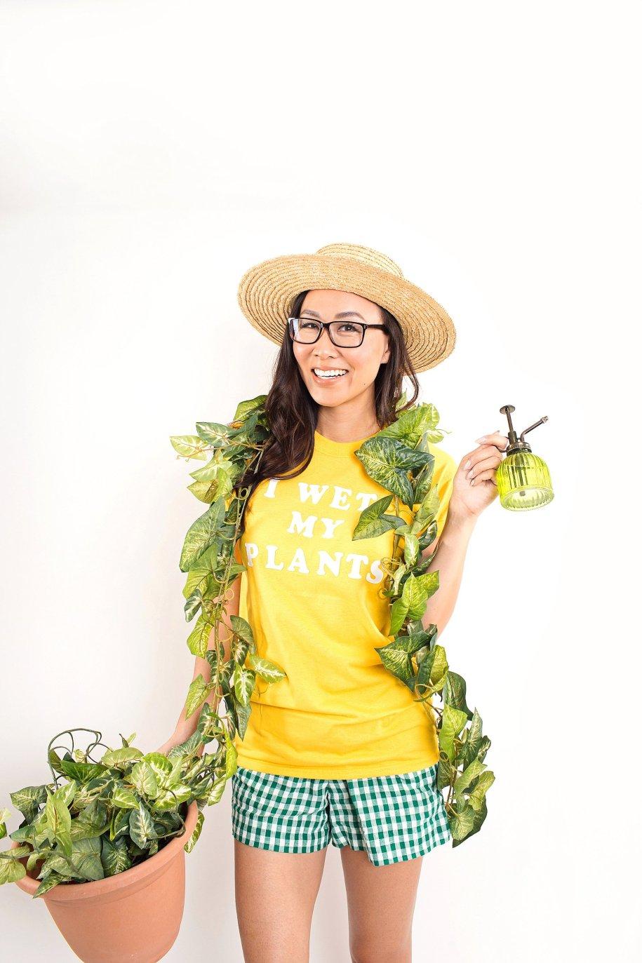 Crazy Plant Lady Halloween Costume | Diana Elizabeth