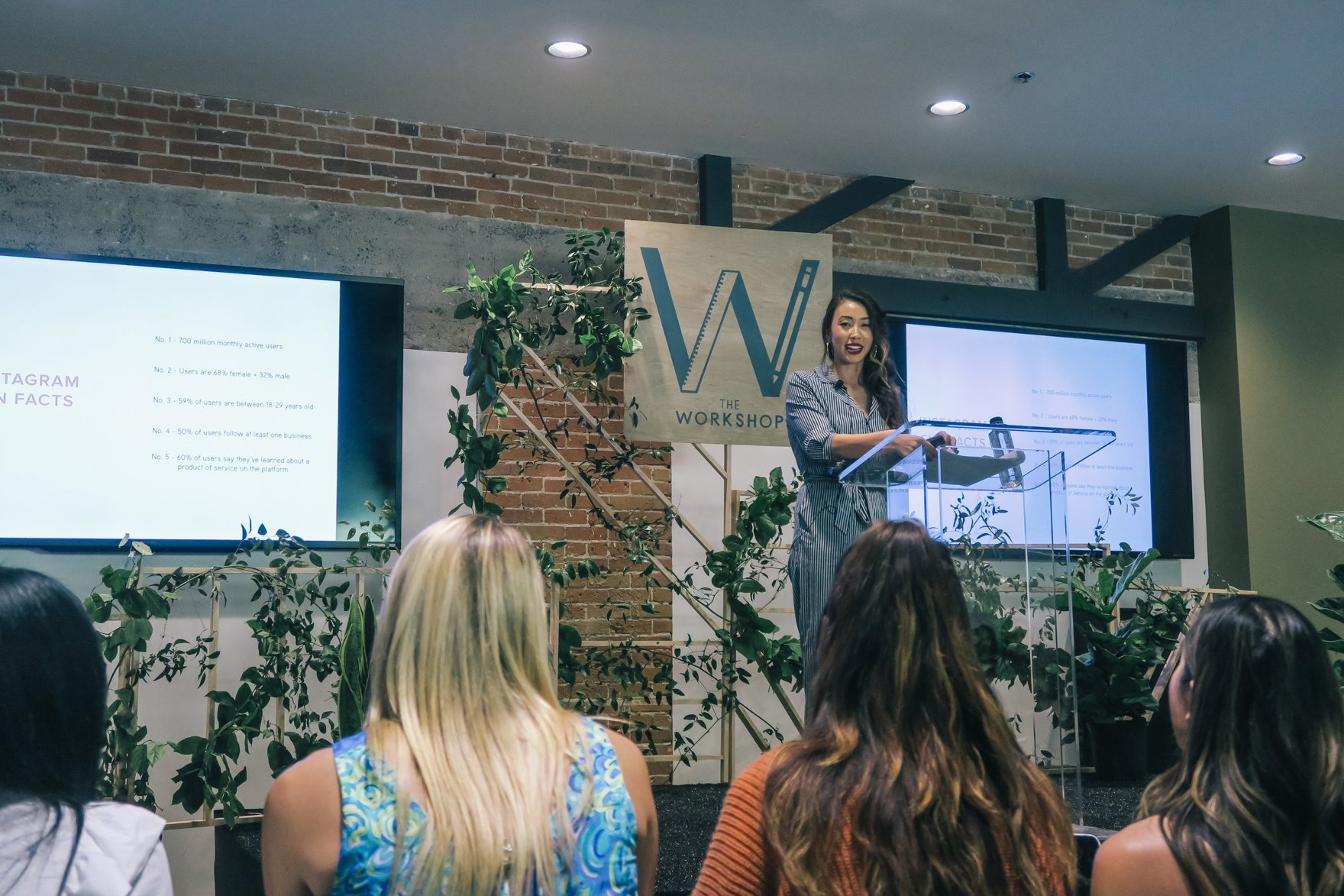 presentation on instagram // a business and blogging social media workshop called The Workshop PHX by the Bloguettes - a review.
