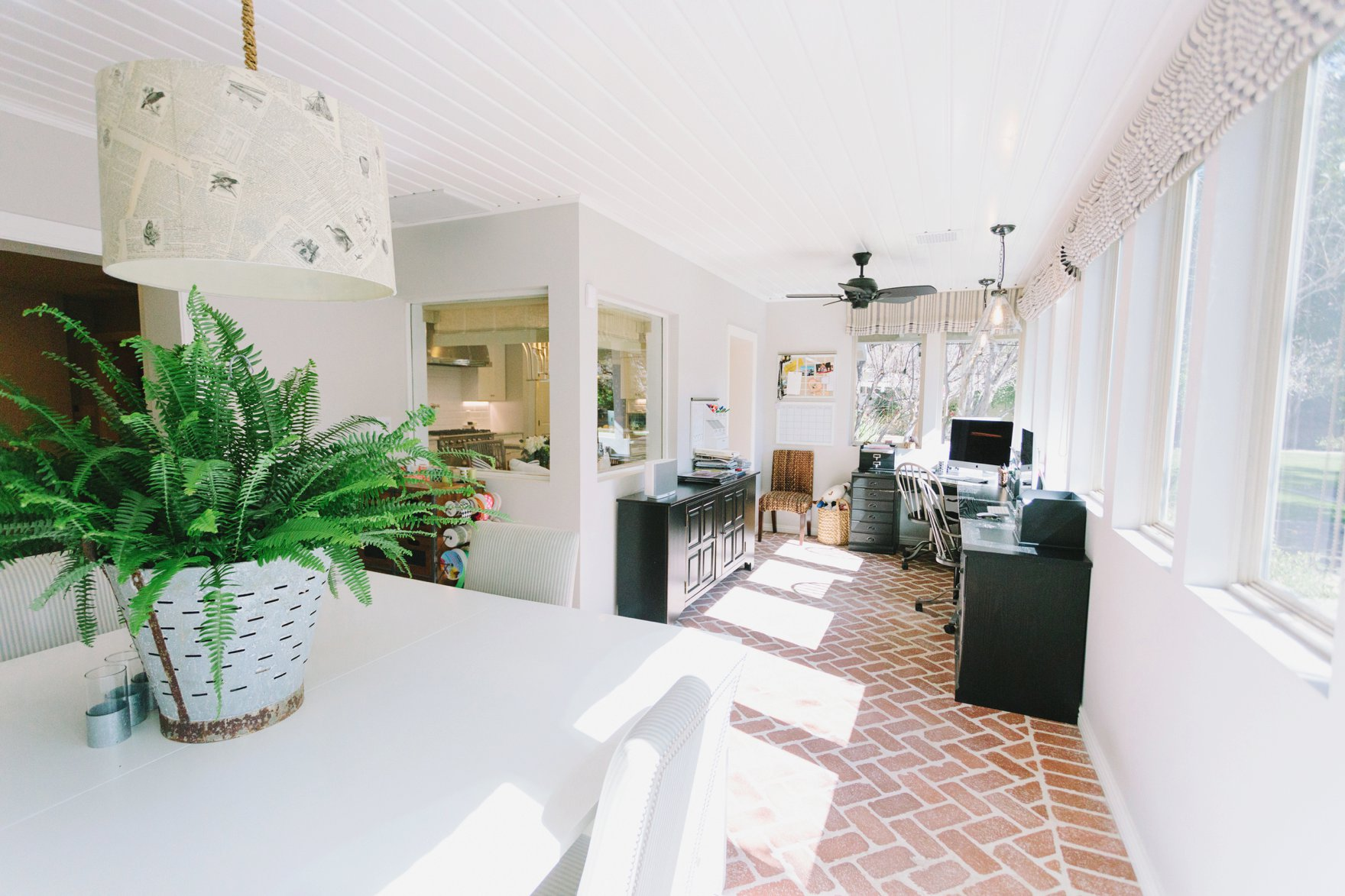 Central Phoenix arizona house tour To Have to Host Lory Parson living area spaces kid work area sunroom