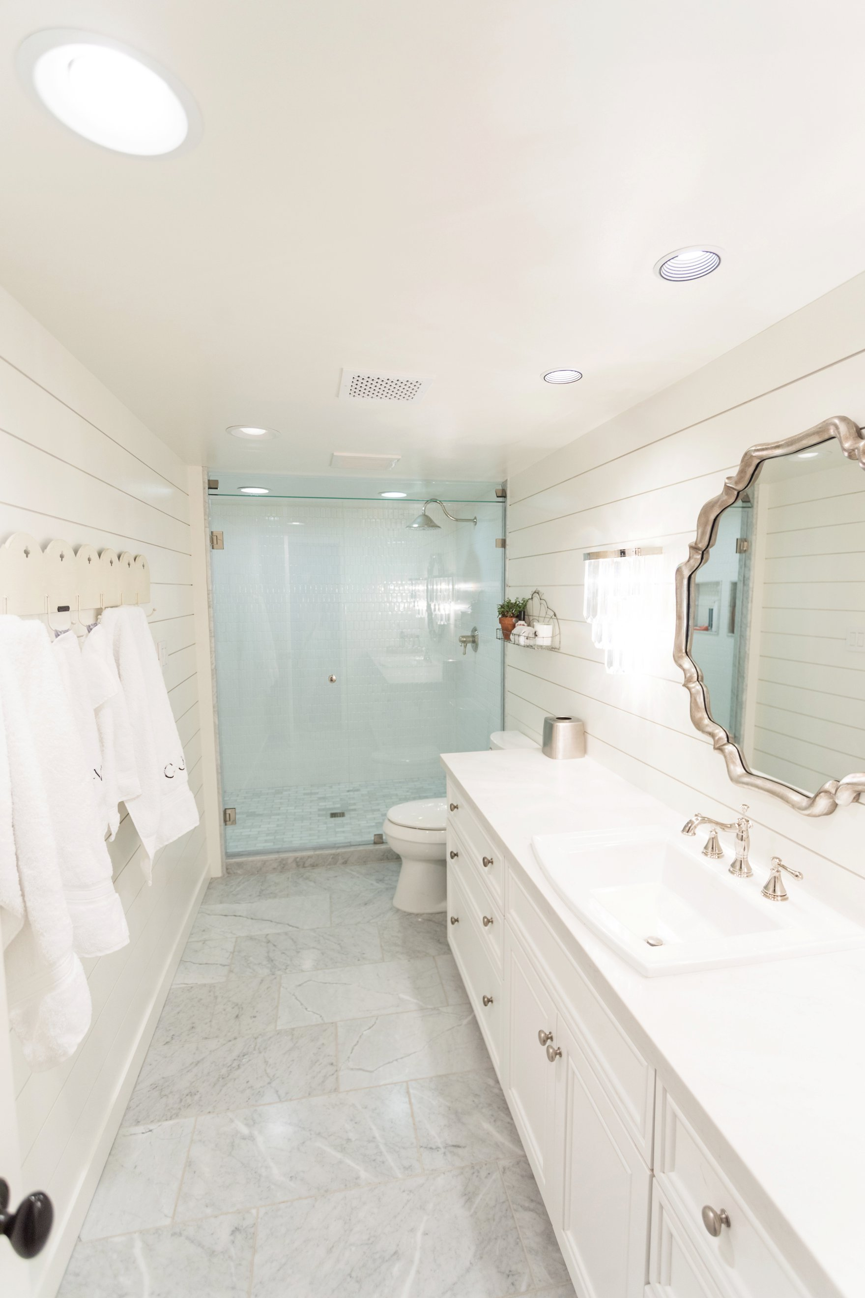Central Phoenix arizona house tour To Have to Host Lory Parson living area spaces bathroom