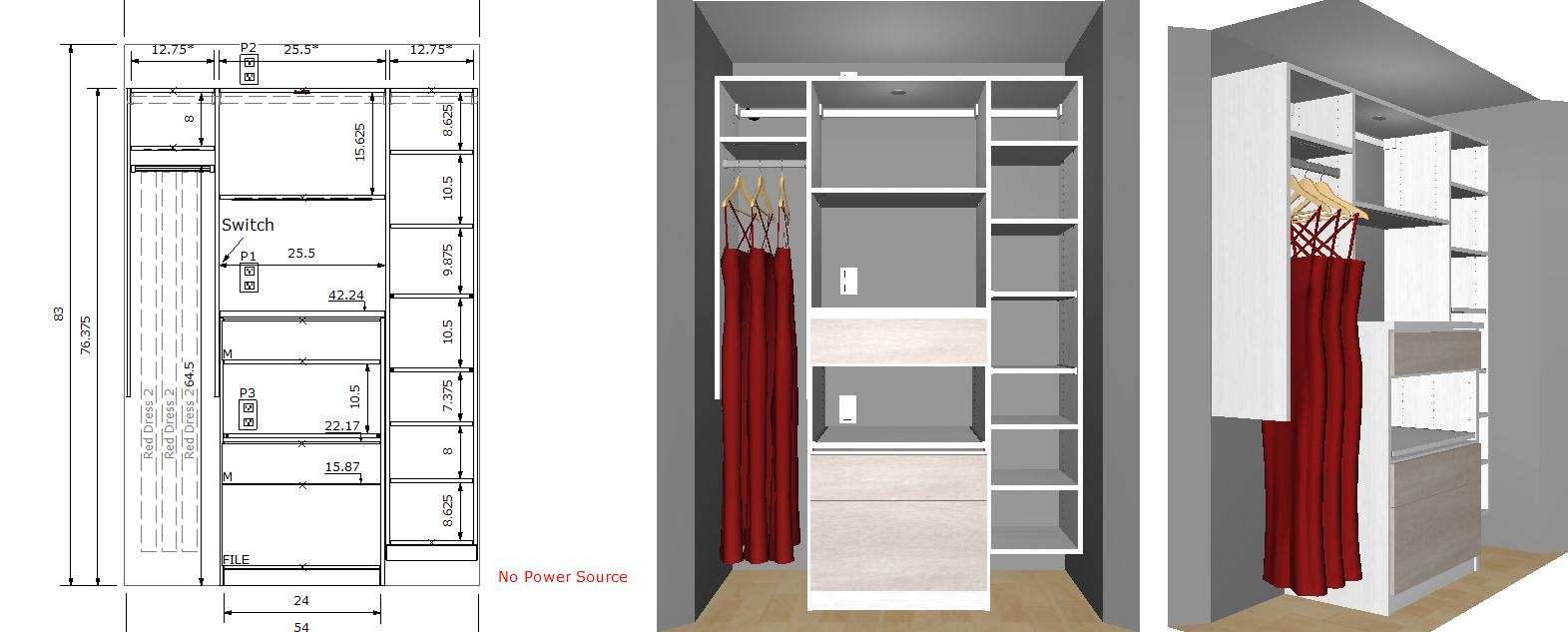 customized storage solution by California Closets, blogger photographer home office before, solutions to organization!