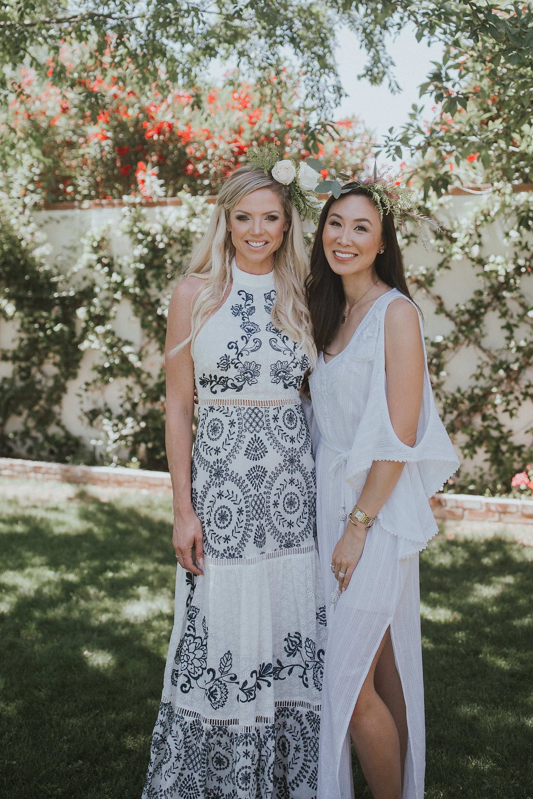 Boho bridal shower