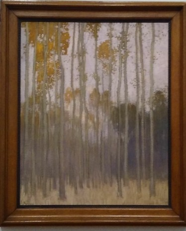 """Johans Valters """"forest (morning sun)"""""""