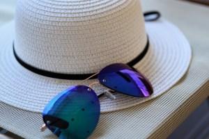 Melasma, pregnancy mask, sunblock, hat
