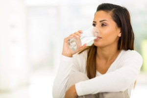 drinking small sips of water helps with morning sickness