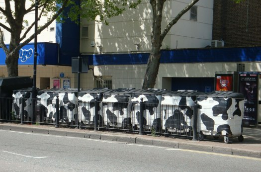 A reminder of cows on Hackney Road?