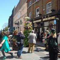 May Day 2013 - Jack in the Green meets Hawksmoor