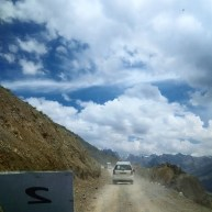 Innova jeep convoy! The roads were so narrow, but no one fell off the side of the mountain.