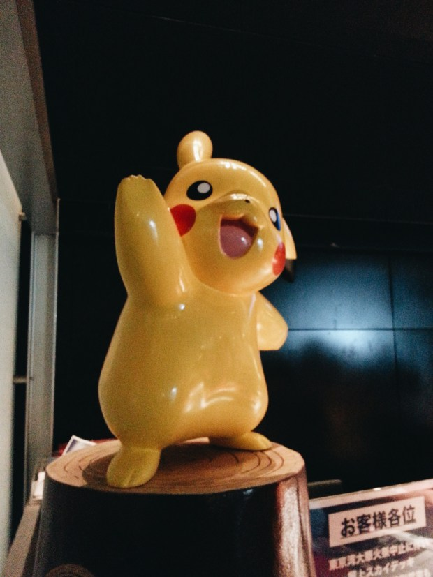 Pikachu Cafe in Roppongi Hills