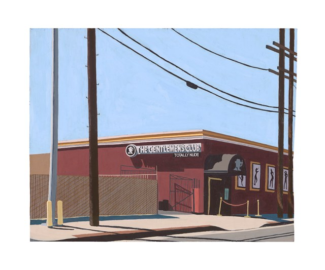 painting of a gentelemen's club