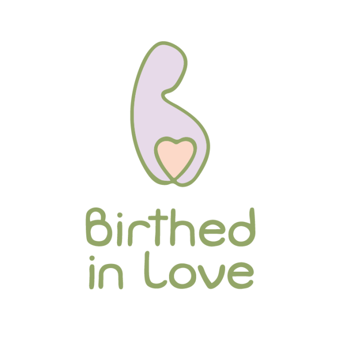 minimalist logo design samples for midwife doula birthworker by Diana Kohne Design