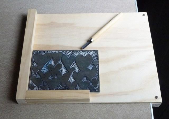 build a bench hook building plans for linocut printmakers