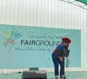 D.L. Lang at Solano County Fair