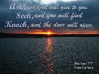If you Seek God, He Will Be There