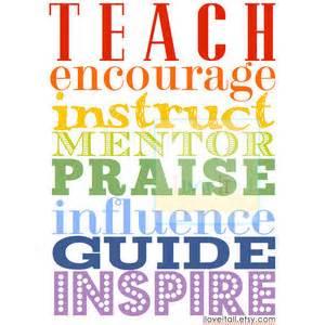 teach instruct