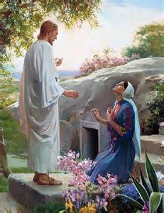 Jesus and Mary Magdalene in the Garden