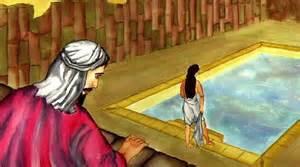 David watching Bathsheba